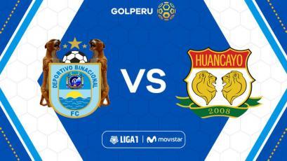 Deportivo Binacional y Sport Huancayo abren la fecha 14 de la Liga1 Movistar