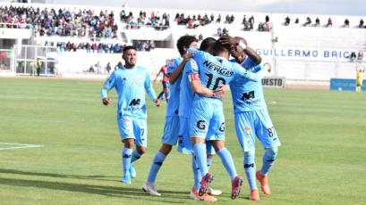 Deportivo Binacional goleó 4-0 a Mannucci y saltó al segundo lugar del Torneo Clausura