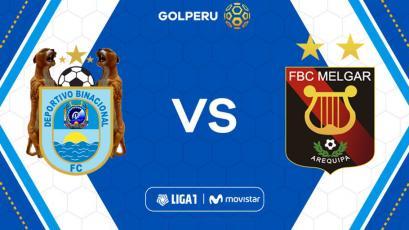 Binacional vs Melgar: hora, estadio y posibles alineaciones del partido por Liga1 Movistar