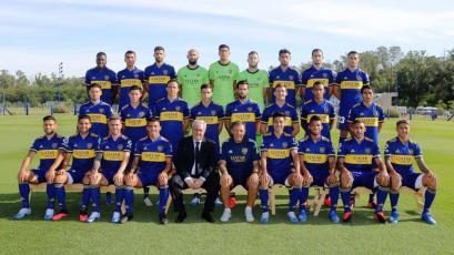 Carlos Zambrano aparece en la foto oficial de Boca Juniors para la temporada 2020 (VIDEO)