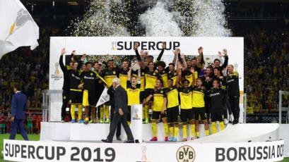 Borussia Dortmund venció 2-0 al Bayern Múnich y es campeón de la Supercopa Alemana (VIDEO)