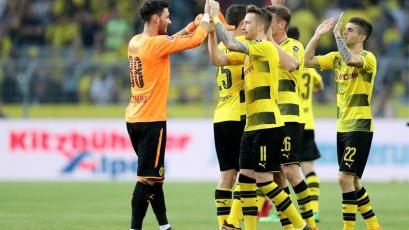 Borussia Dortmund goleó al Bayer Leverkusen (4-0)