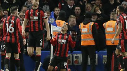 Bournemouth dio la sorpresa y goleó al Chelsea en Stamford Bridge