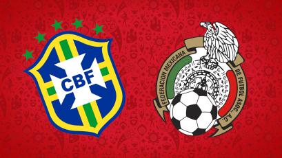 EN VIVO por Rusia 2018: Brasil 1-0 México