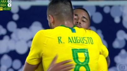 Brasil derrotó 2-0 a Arabia Saudita