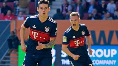 Bundesliga: James Rodríguez seguirá jugando en el Bayern