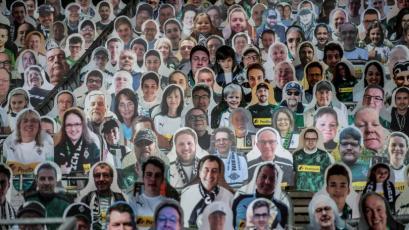 Bundesliga: la ingeniosa idea del Borussia para jugar con hinchada a puertas cerradas