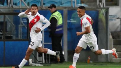 Perú vs. Chile: Edison Flores marcó el 1-0 en la segunda semifinal de la Copa América