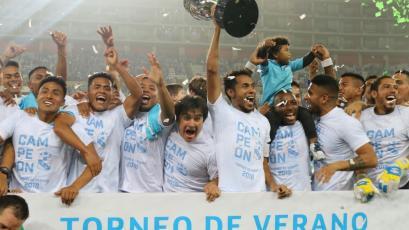 ¡Sporting Cristal es el campeón del Torneo de Verano!