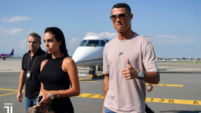 ¡Cristiano Ronaldo llegó a Turín!