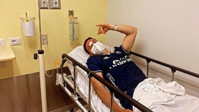 Cienciano: Adrián Ugarriza sufrió terrible corte y recibió 24 puntos en la frente (VIDEO)