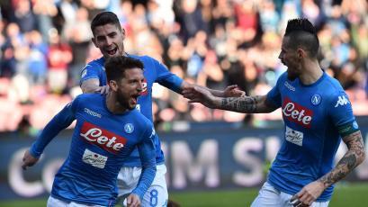 Serie A: Napoli volvió al liderato del calcio italiano
