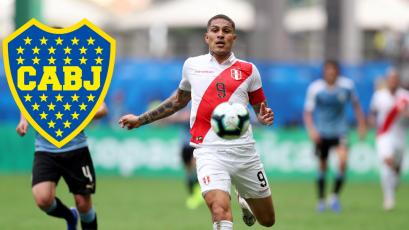 Riquelme estaría buscando fichar a Paolo Guerrero para Boca Juniors