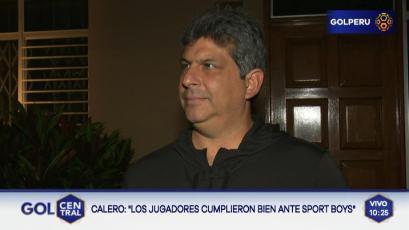 Gerardo Calero: