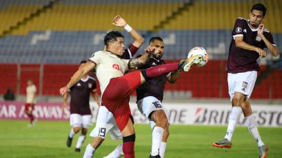 Carabobo vs. Universitario: Jonathan Dos Santos marcó el empate con este gol (VIDEO)