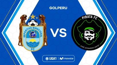 Deportivo Binacional y Pirata FC abren la fecha 8 del Torneo Clausura