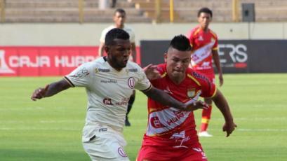 Universitario y Sport Huancayo se repartieron los puntos en el Monumental (1-1)