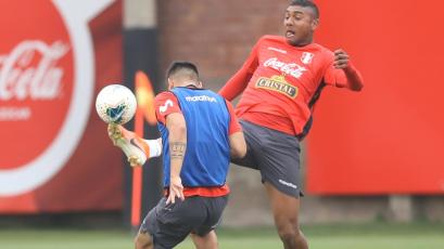 Selección Peruana Sub 23 realizó último entrenamiento previo al choque frente a Ecuador
