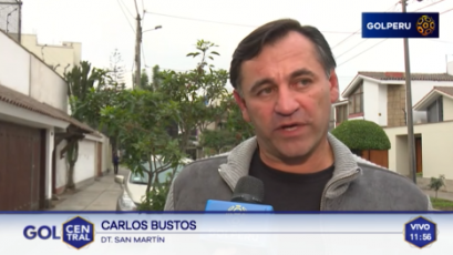 """Carlos Bustos: """"Este receso sirve para reforzar el funcionamiento del equipo"""""""