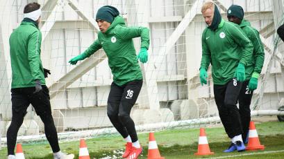 Paolo Hurtado volvió a los entrenamientos del Konyaspor