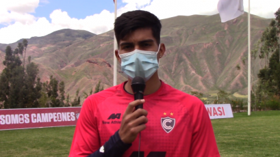 """Jordan Guivin de Cienciano: """"Soñamos con el campeonato y para eso trabajamos"""" (VIDEO)"""