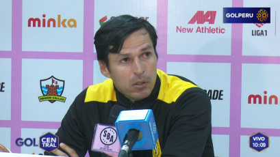 """Jorge Araujo, sobre el empate con Sport Boys: """"Perdimos dos puntos"""""""