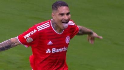 Paolo Guerrero ingresó y marcó: 'Depredador' anotó el 4-2 para el Internacional de Porto Alegre (VIDEO)