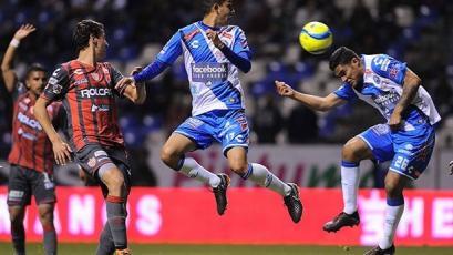 Anderson Santamaría jugó en el empate del Puebla