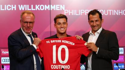 Oficial: Philippe Coutinho es nuevo jugador del Bayern Múnich