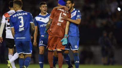 Luis Abram fue titular en histórico triunfo de Vélez ante River Plate de visita (VIDEO)