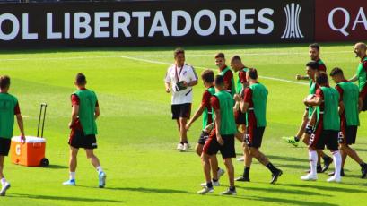 Copa Libertadores: River Plate comenzó a fortalecerse en Matute de cara a la final (FOTOS)