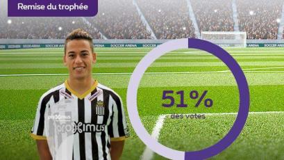 Cristian Benavente es elegido el mejor jugador del mes de febrero
