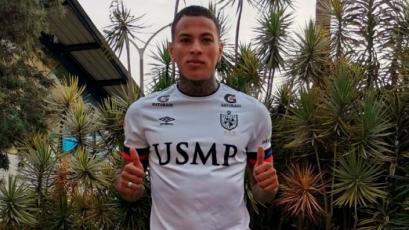Kevin Ruiz tras fichar por San Martín: