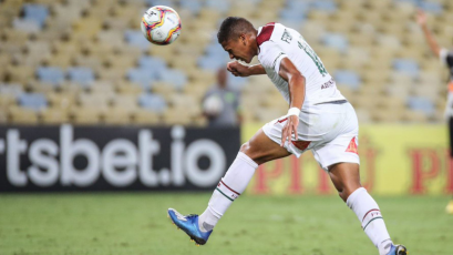Brasileirao: Fernando Pacheco volvió al once inicial del Fluminense en el empate ante Botafogo