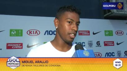 """Miguel Araujo: """"Estos partidos se ganan con corazón y empuje"""""""