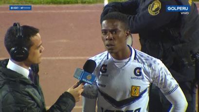 Cristian Lasso tras la victoria de Cantolao: