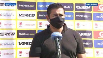 Jorge Espejo luego de la derrota de la Academia Cantolao: