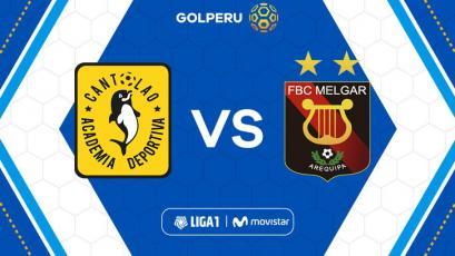 Academia Cantolao y Melgar jugarán por la última fecha del Torneo Apertura