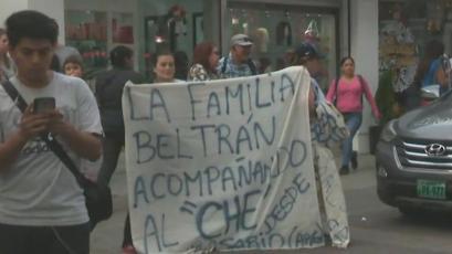 Alianza Lima: Carlos Beltrán y el emotivo detalle de su familia en la partida al Estadio Nacional