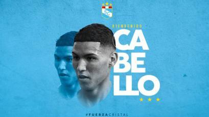 Liga1 Movistar 2020: Sporting Cristal hizo oficial el fichaje de Carlos Cabello hasta 2023 (VIDEO)