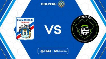 Carlos Mannucci juega con Pirata FC en Trujillo por la Liga1 Movistar