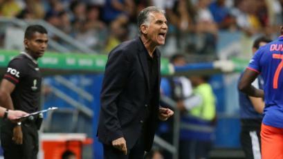 Carlos Queiroz le respondió al técnico de Argentina quien se quejó del estado del campo