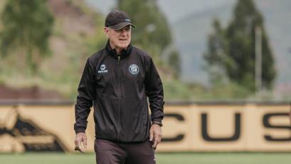 Carlos Ramacciotti y la pretemporada de Cusco FC: