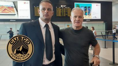 Carlos Ramacciotti llegó para dirigir a Cusco FC: