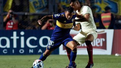 Carlos Tévez sobre Universitario 0-2 Boca: