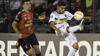 La doble salvada de Carlos Zambrano que los hinchas de Boca Juniors aplaudieron (VIDEO)