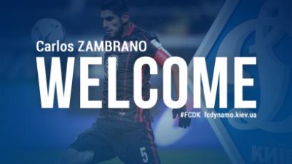 Dinamo de Kiev oficializó el fichaje de Carlos Zambrano