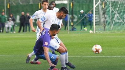 Carlos Zambrano jugó 90 minutos con la Sub 21 del Dinamo Kiev y su DT lo elogió (VIDEO)