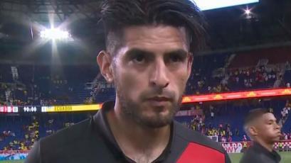 Carlos Zambrano tras la derrota:
