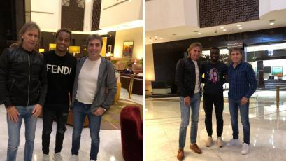 Selección Peruana: Ricardo Gareca se reunió con Christian Ramos y André Carrillo